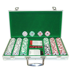 300 Chip 11.5g HIGH ROLLER Set w/Aluminum Case