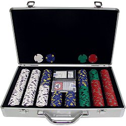 400 13 gm Pro Clay Casino Chips w/ Aluminum Case