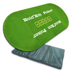 Three fold Texas Hold'em Poker Tabletop