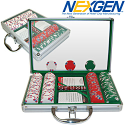200 Lucky Bee EDGE SPOT NEXGEN Chips w/Aluminium Case