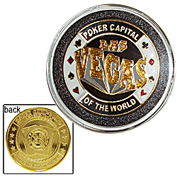 Las Vegas Card Cover * Protect Your Hand *