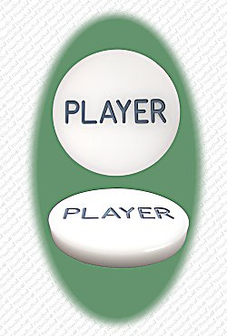 Professional PLAYER Button