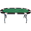 Full Size Accent Suited Poker Table 83 X 42