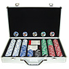 400 11.5g Jackpot Casino Clay Chip w/ Aluminium Case