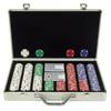 400 Chip Texas Hold'Em Set w/ Deluxe Aluminum Case