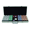 500 11.5G Holdem Poker Chip Set w/Aluminum Case