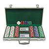 300 Chip Texas Hold'Em Set w/ Aluminum Case