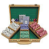 300 Chip Texas Hold'Em Set w/Oak Case