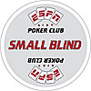 ESPNR Texas Hold'Em Poker Small Blind Button