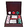 100 Lucky Bee EDGE SPOT NEXGEN w/dark wood poker
