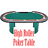 The Final Table - Pedestal Leg Table w/DEALER SPOT - 84 Inch