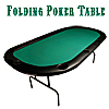 84 x 42 Texas Holdem Poker Padded Folding Table