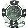 Coin Inlaid Casino Poker Chips