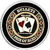 Bullets Card Cover * Protect Your Hand *